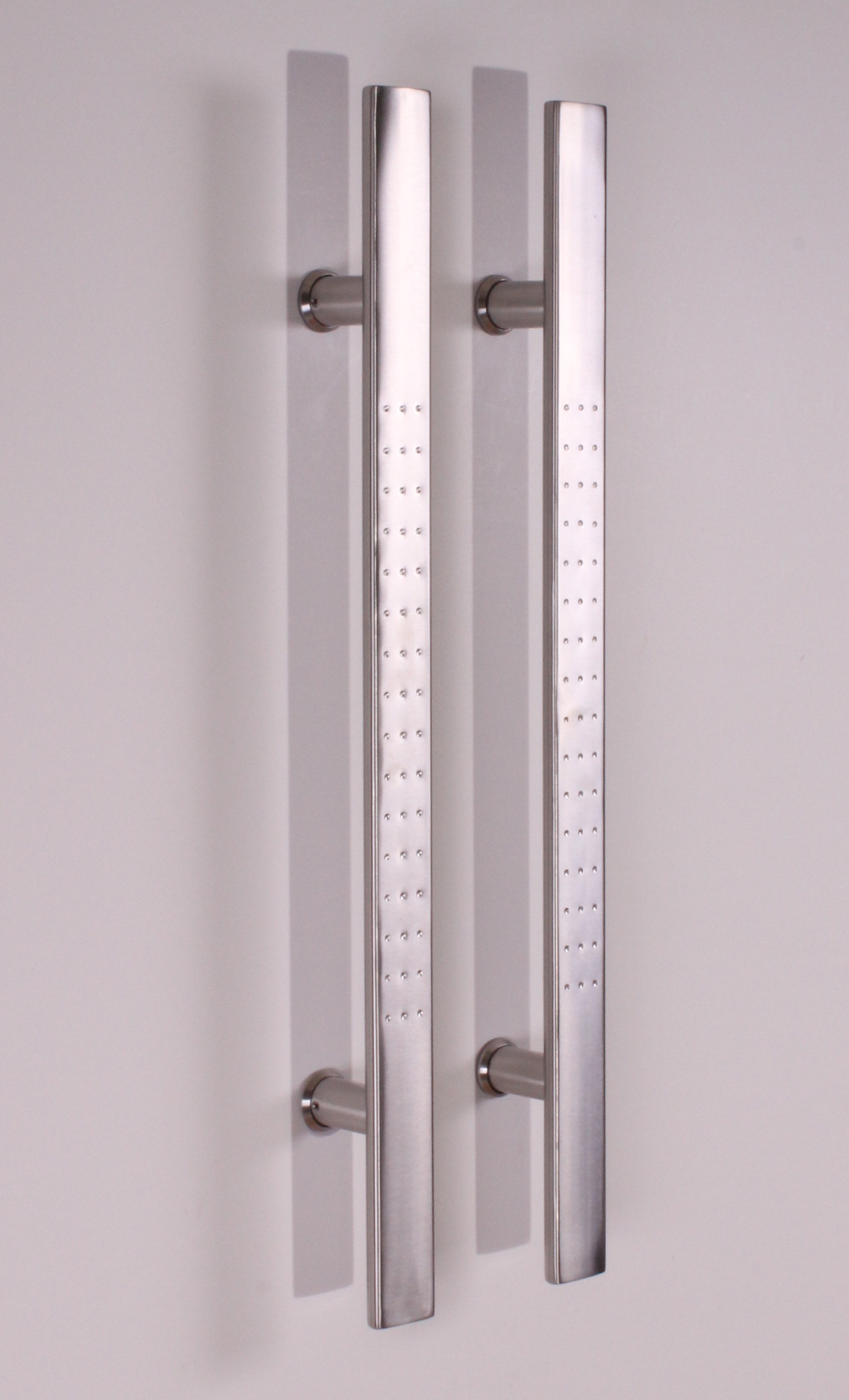 Barn Door Handle Pull Set Stainless Steel Wooden Barn
