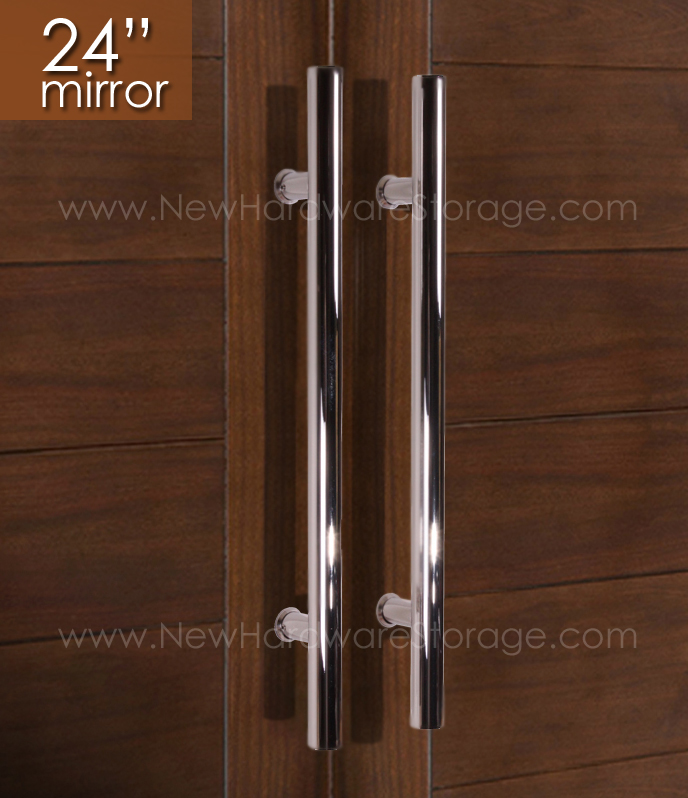 Modern Stainless Steel 304 Sliding Wood Barn Door Hardware with 18 ...